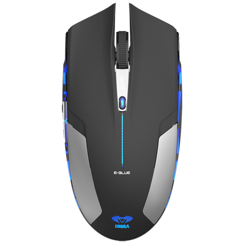 Hot-sale High Quality Game Mouse Professional Gifts 6D 1800 DPI Blue LED 2.4GHz Wireless Gaming Mouse White For Computer(China (Mainland))