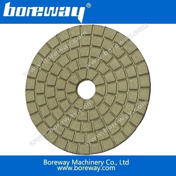 High quality 5inch 125mm white wet buff diamond polishing pad from Fujian China+fast shipping+ecnomical price<br><br>Aliexpress