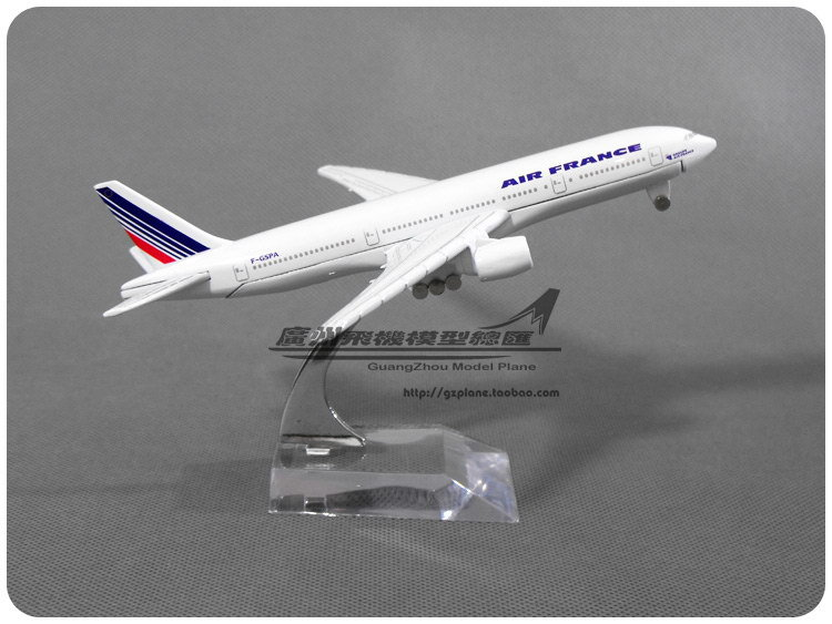 16cm Alloy Metal Air France Airlines Airplane Model Boeing 777 B777 Airways Plane Model Diecast Collections(China (Mainland))