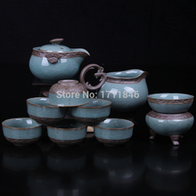 Home Supplies Coffee Tea Sets Teapot Set with Gaiwan Drinkware Porcelain Coffee Tea Sets