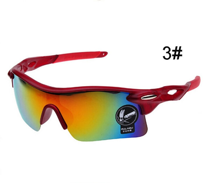 Cycling Glasses UV400 Outdoor Sports Windproof Eyewear Mountain Bike