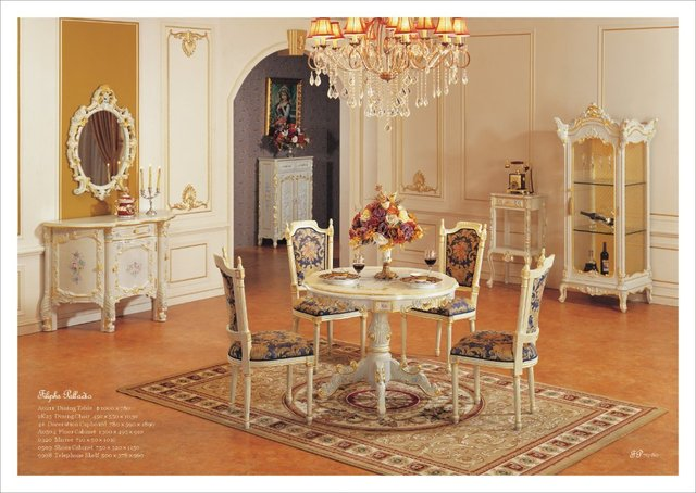 Antique dining room furniture reproduction french