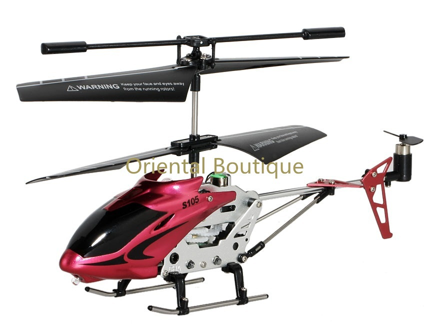 INZHI S105C 3.5-Channel Infrared Remote Control RC Helicopter Red<br><br>Aliexpress
