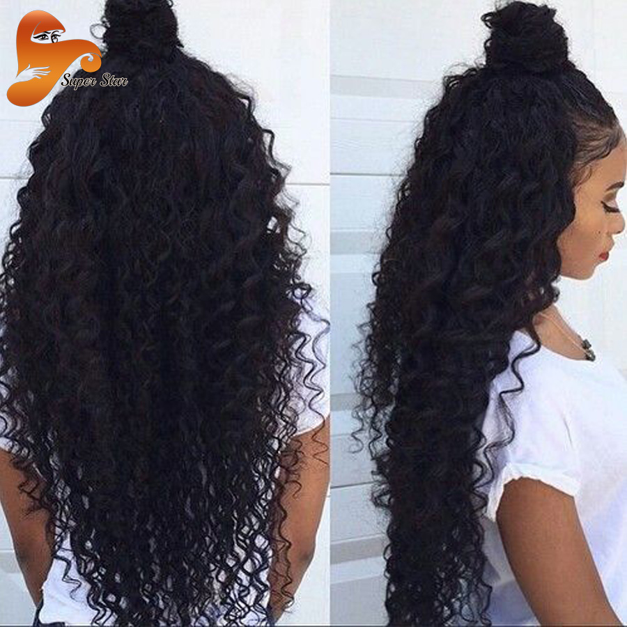 Curly Full Lace Human Hair Wigs Brazilian Virgin Hair Glueless Full Lace Wigs With Baby Hair Deep Curly Beyonce Lace Front Wigs<br><br>Aliexpress
