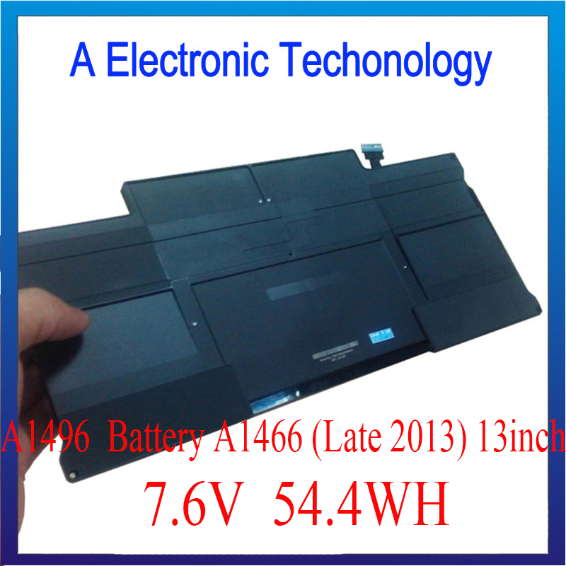 A1496 Battery For Macbook Air A1466 Rechargeable Battery Late 2013 11inch