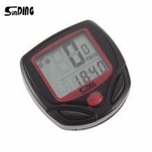 Buy SunDing SD-548B Bike Computer LCD Display Backlight Bicycle Speedometer Cycling Stopwatch for $2.80 in AliExpress store