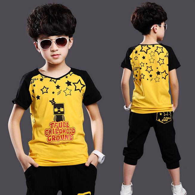 New summer children clothing set baby boy 39 s set short o for T shirts for 15 year olds