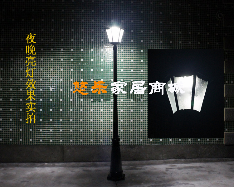 LED Energy Saving Solar Street Lights Yard Lawn Garden Bright Lamps Outdoor Waterproof Landscape Lighting Courtyard Road Light(China (Mainland))