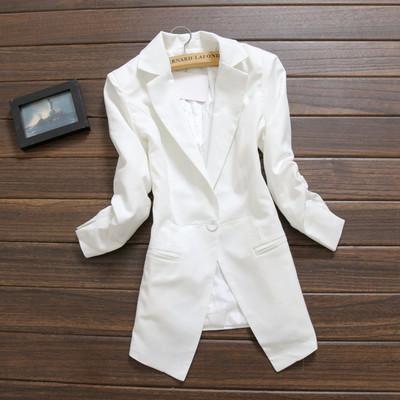 Renda blazer feminino 3 4 sleeve foldable slim 2015 new fashion spring jacket women s suit
