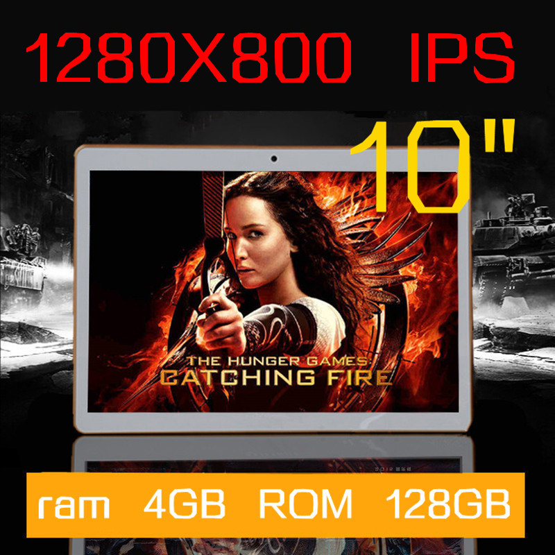 10 inch IPS Octa Core Tablet ram 4GB ROM 64GB+keyboard 5.0MP 3G Android5.1 GPS MTK6592 Dual sim card Phone Call Tablets PC(China (Mainland))