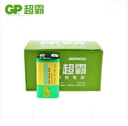 10pcs/lot GP Super 6F22 9V Carbon battery GP1604G-S1 9V Batteries For Multimeter, Receiver use Free shipping<br><br>Aliexpress