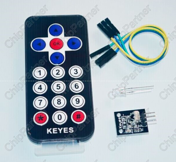 2pcs Infrared Wireless Remote Control Kits for Arduino AVR PIC NEW CA(China (Mainland))