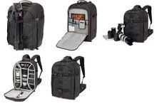Lowepro Pro Runner 450 AW Photo Camera Bag Digital SLR Backpack laptop 17″ with All Weather Cover