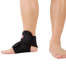 Adjustable Basketball Ankle Brace Support Protect Elastic Wrap Pad Foot Protection(China (Mainland))