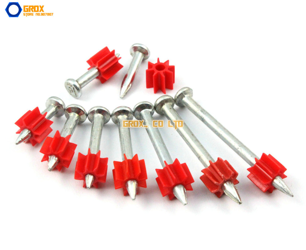 150 Pieces 3.5 x 22mm Steel Concrete Drive Pin Nail(China (Mainland))