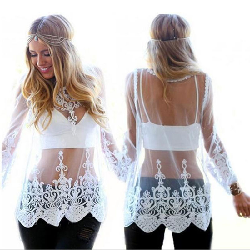Lace-Blusas-2015-Fashion-Women-Sheer-Embroidery-Floral-Crochet-Lace