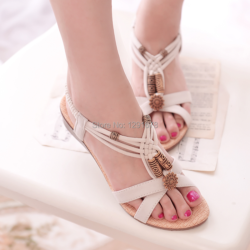 Free shipping hot Summer 2014 Bohemian shoes women sandals(China (Mainland))