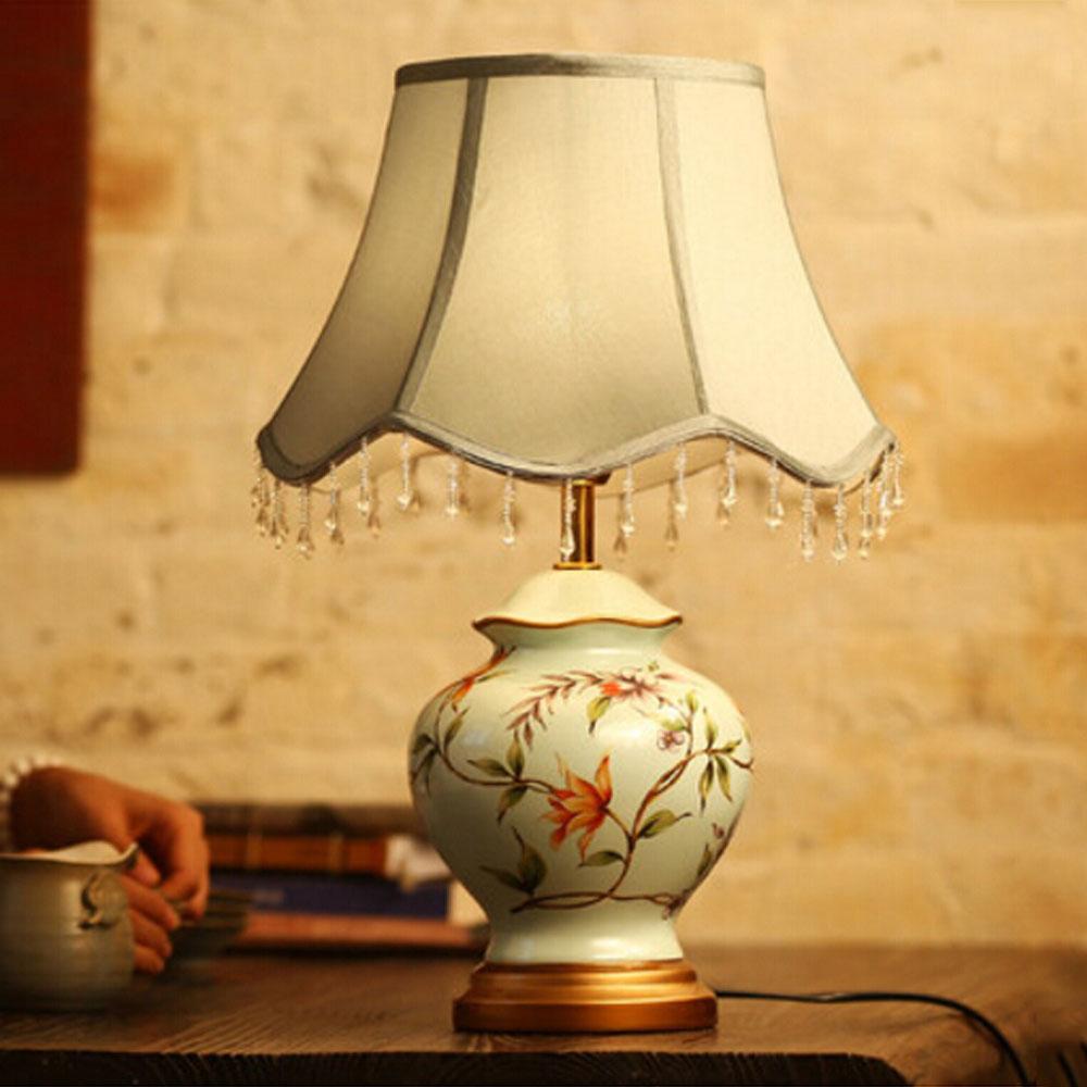 Peint la main lumi re ampoules promotion achetez des for Nachttischlampe vintage