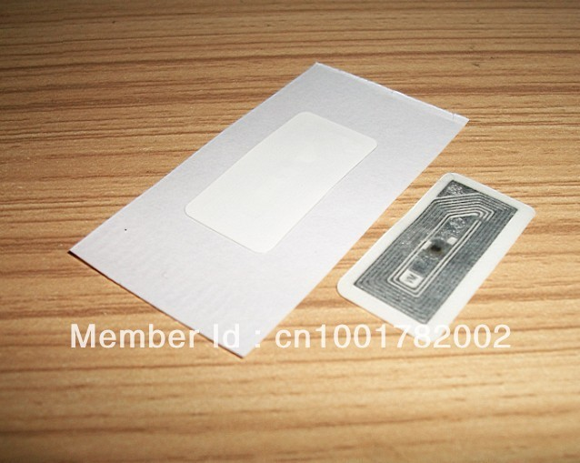 10pcs/lot  30*15MM  white   RFID NFC Label/Sticker/Tag 13.56MHZ ISO 14443A Mifare1K S50 for sangsung  HTC  NFC