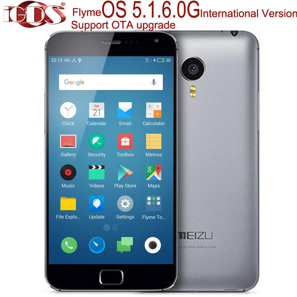 "Original Meizu MX4 pro Octa Core Exynos 5430 4G FDD LTE International Flyme OS 5.1.6.0G 5.5"" IPS Screen 3GB RAM cell phone(China (Mainland))"