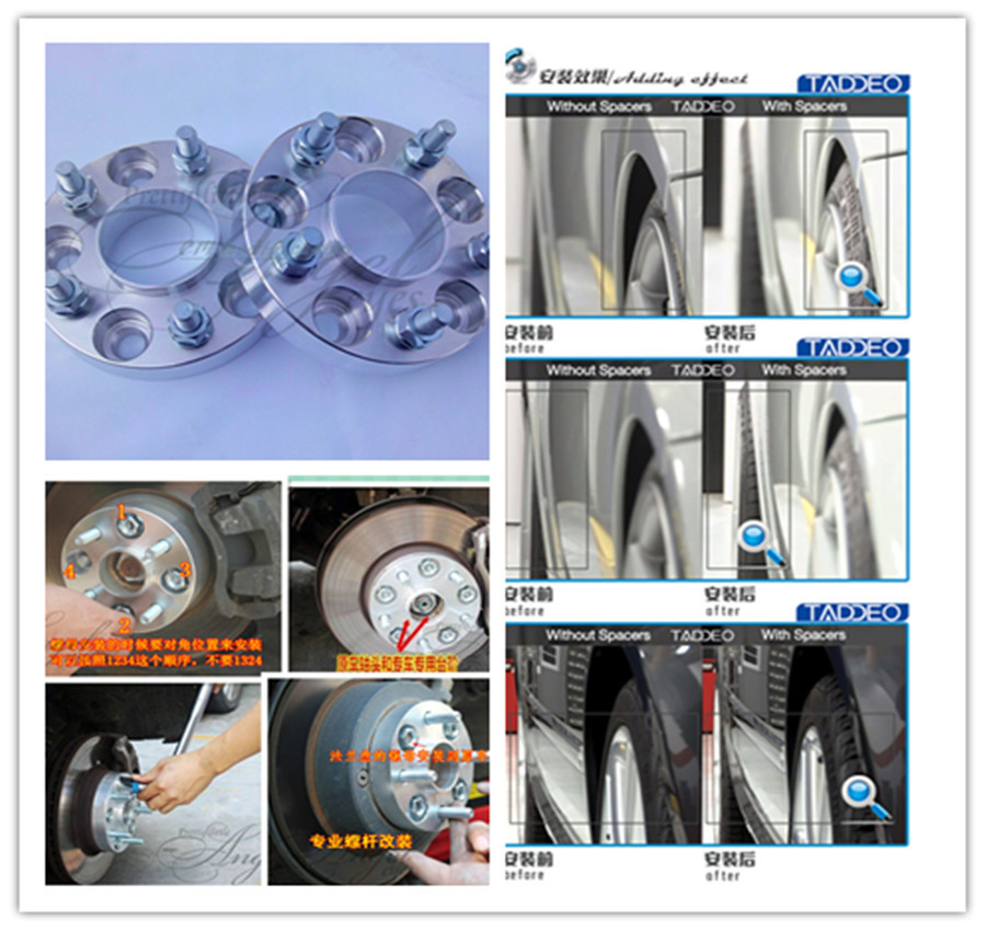 A pair (2 pieces), 5 x115 hole of 66.1 mm, wheel adapter, spacers, suitable for nissan Quest is 2004-2009<br><br>Aliexpress