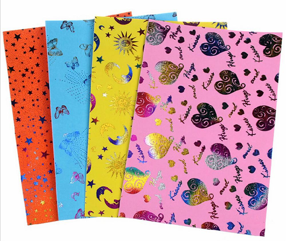 EVA Sponge10 Pattern Glitters Foam Paper For Background Fold scrapbooking Paper Craft Punch Stamping DIY Gift Decor(China (Mainland))