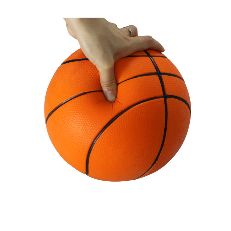 Children Basketball Sport Ball Game Toy Child Fitness Toys Basketball 6 Inch 15cm Basketball for Kids Gifts 100% Non Toxic PU(China (Mainland))