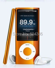 Music playing time 30hours slim 4th Gen 8gb 9 Colors mp3 fm radio video player