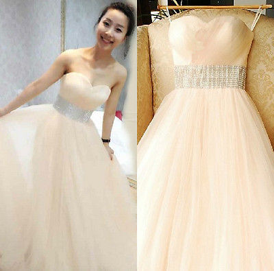 Formal Costumes Gown Strapless Long Elegant Wedding Bridal Chiffon Dress(China (Mainland))