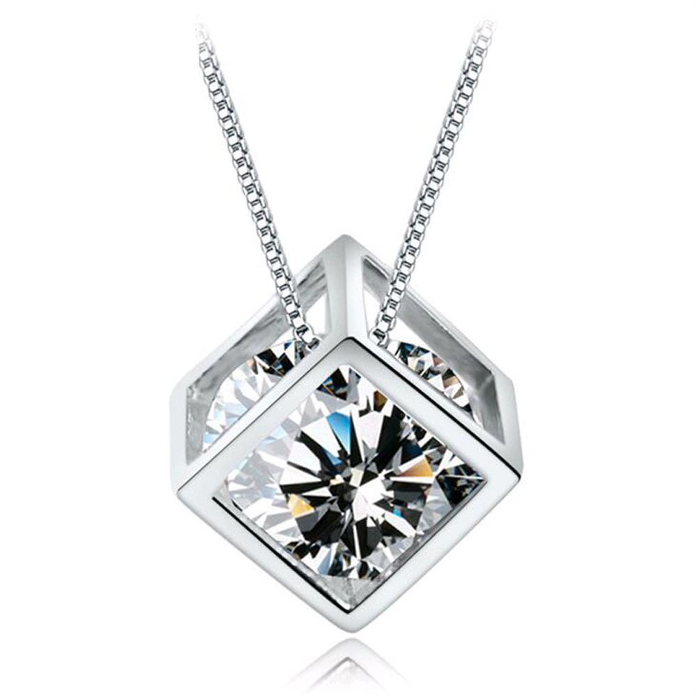 New fashion Dolphin Pendant Amethyst fashion magic cube necklace chain charming fashion accessories and jewelry party well, N71(China (Mainland))