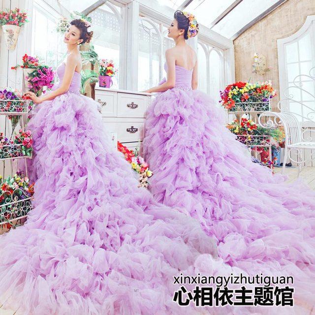 2016 новая бесплатная доставка свадебные платья девушки женщин хорошо свадебное платье ...