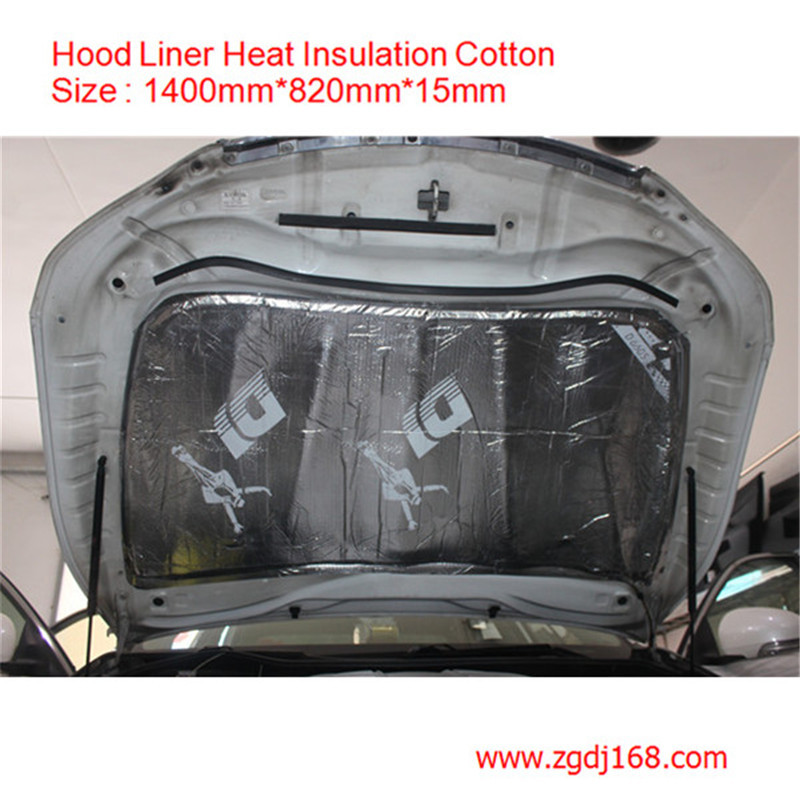 Hood Liner Material : Foam rubber thick mm acoustic absorption car insulation