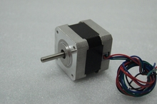 4-lead NEMA 17 Stepper Motor J42HB38-01 38oz-in 38mm 1.2A