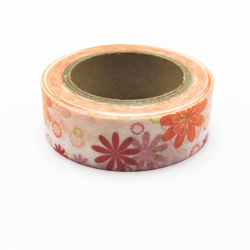 Kawai Printing Japanese Washi Tape Stickers For Scrapbooking Masking Tape Fita Adesiva Decorativa Decorative Scotch Tape Fita(China (Mainland))