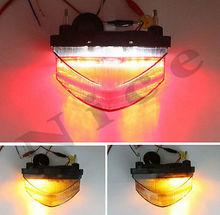 New Clear LED Tail Brake Light Turn Signals For 2001-2003 HONDA CBR 600 F4i(China (Mainland))