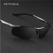 Buy 2017 VEITHDIA Brand Designer Rimless Mens Aluminum Sunglasses Polarized Male Sun Glasses oculos de sol masculino Men VT6529 for $9.94 in AliExpress store