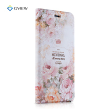 "New Arrival Case Cover For Apple iPhone 6 6S 4.7"" 3D Pattern Painted Luxury Flip bracket Mobile Phone Bags"