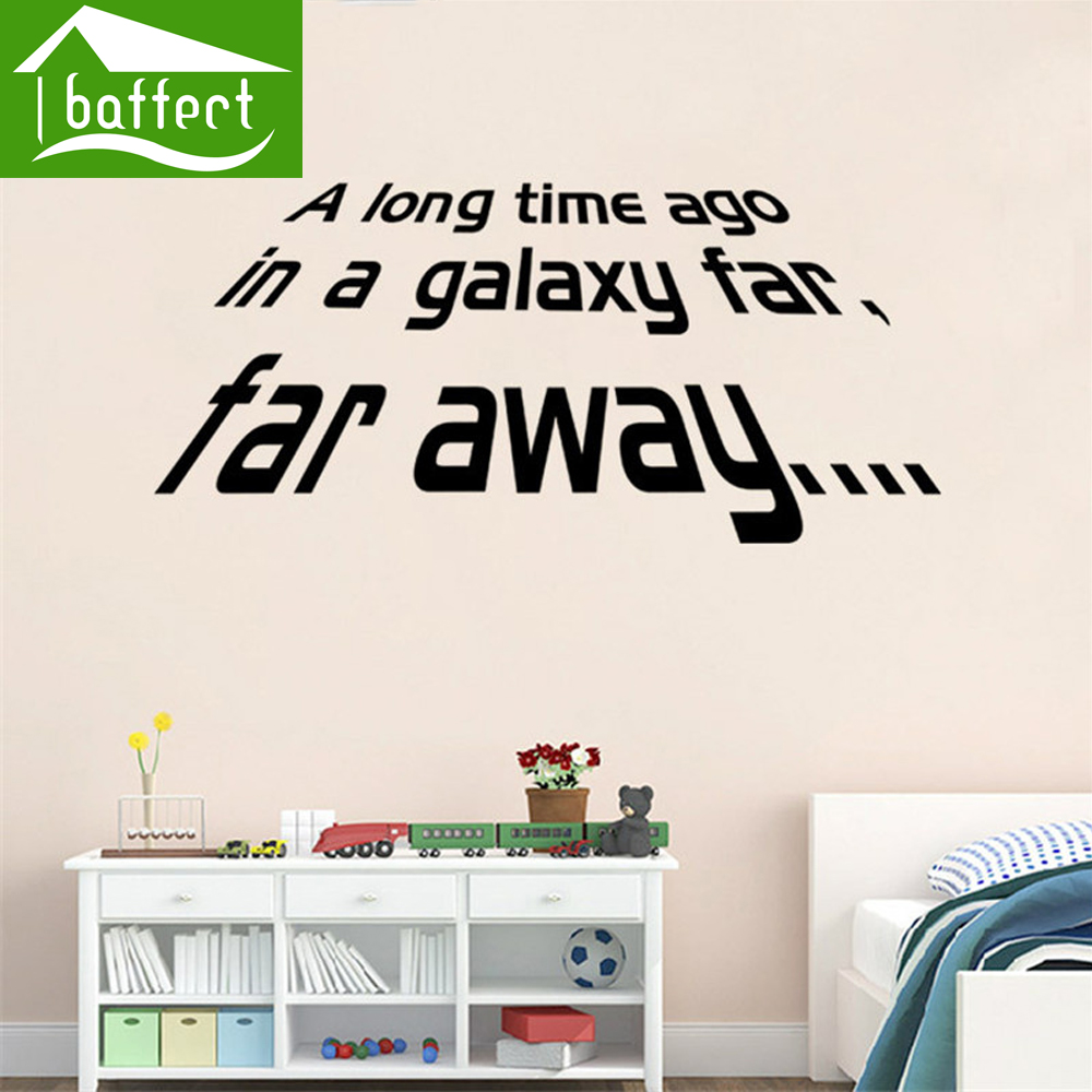 Newest Star s War wall Stickers wallpaper poster for living room bedroom Decoration PVC removable green home decor ws47(China (Mainland))