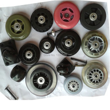 replacement luggage suitcase rolling luggage wheels with bolt rivet bearing(China (Mainland))