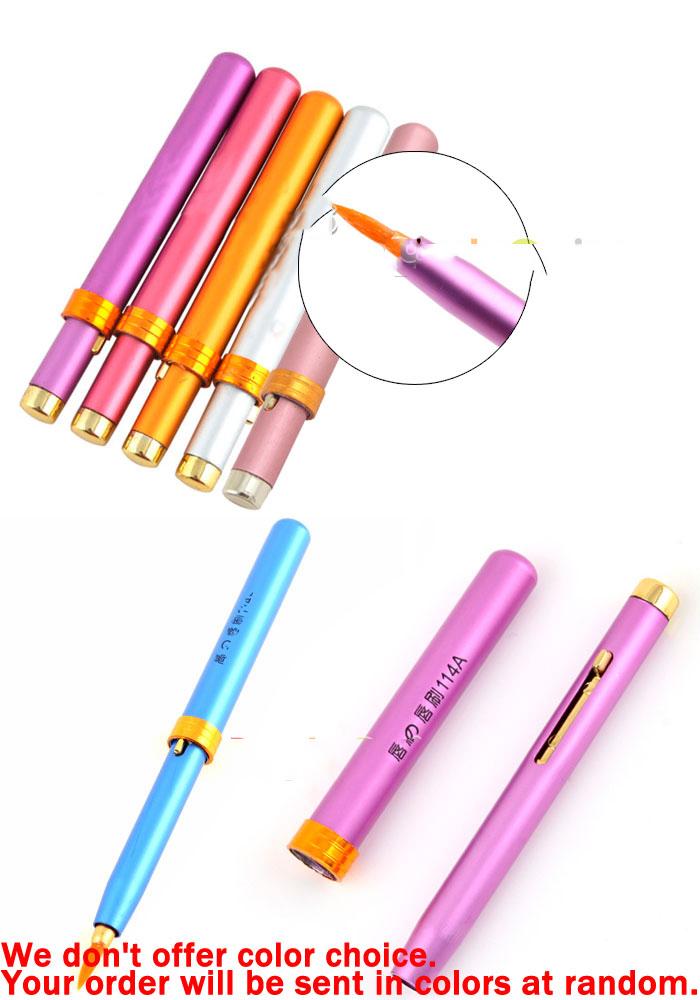 Digitalhome Original barnd 1 Pcs 2pcs Portable Cosmetics Telescopic Lip Brush Brushes Makeup Personalized!(China (Mainland))