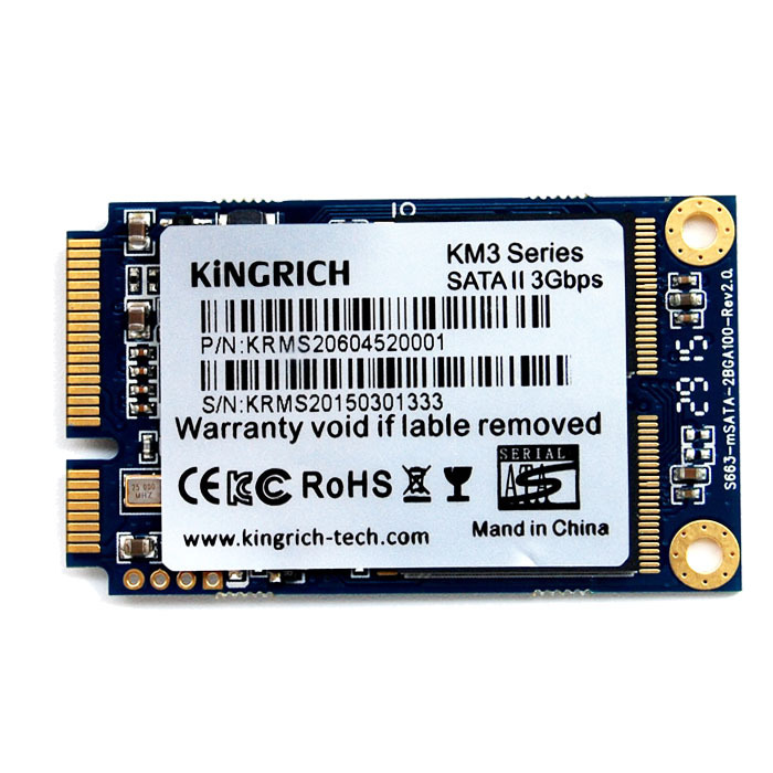 free shipping kingrich brand 32gb internal ssd disk mini msata for spec laptop in internal solid. Black Bedroom Furniture Sets. Home Design Ideas