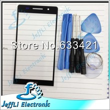 Original new Outer LCD Screen Lens Top Glass For Huawei Ascend P6 +Open Tools