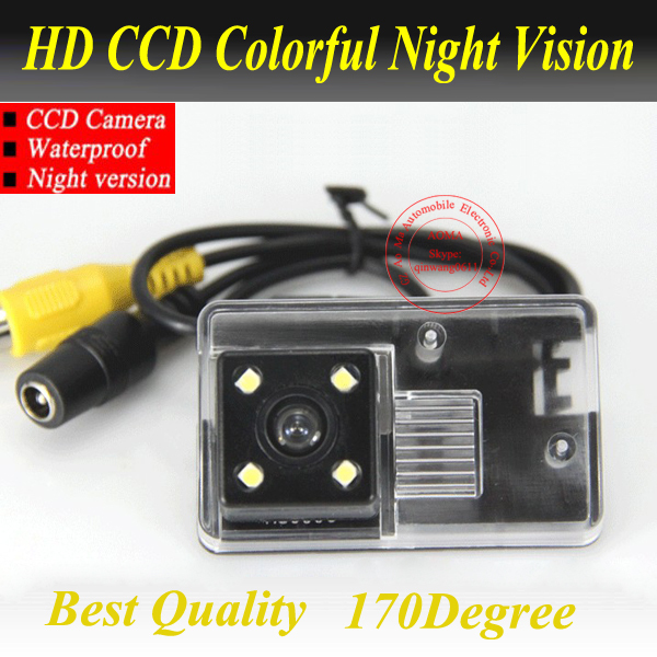 For Peugeot 307 Car Rear View Camera , Car Reversing Camera with Waterproof IP69k + Wide Angle 170 Degrees + CCD + Free Shipping(China (Mainland))