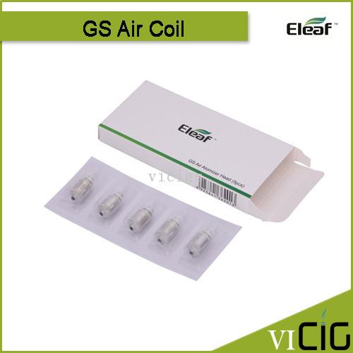 2015 Hot Replacement Coil Eleaf Ismoka GS Air Atomizer Coil 1.2ohm Original Ismoka CoilSuit GS Air Vaporizer 5pcs/lot(China (Mainland))