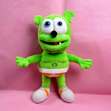 Hot Sale 35cm Singing I'm a Gummy Bear Funny Lovely Toys Sounding Plush Toy Best Gift For Kids(China (Mainland))