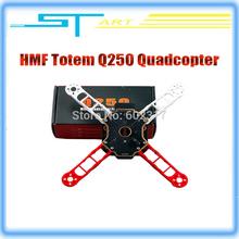 2016 Brand New 2Pcs DIY Q250 Mini Quadcopter Frame Kit HMF Totem 250mm FPV 4 Axis RC Drone Part Than H250 QAV250 recommend CC3D