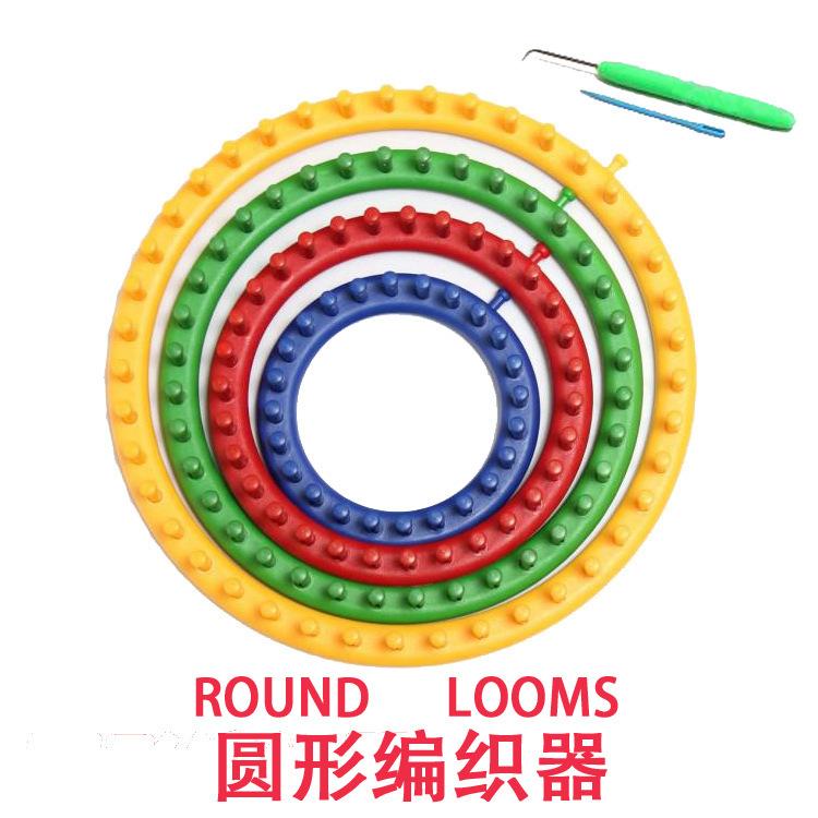Round Knitting Loom Set Italiano : Popular knitting machine circular buy cheap