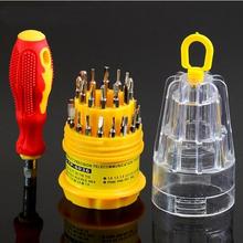 31 en 1 de precisión destornillador mango establecer tornillo reparaciones Tool Kit niza