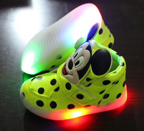 Гаджет  2015 European fashion cute LED lighting children shoes hot sales Lovely kids sneakers high quality cool boy girls boots None Детские товары