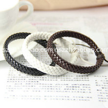 Fashion lovers bracelet punk knitted hand ring leather strap non-mainstream personality accessories
